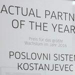 Postali smo najboljši Actual partner na svetu.